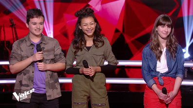 The Voice Kids 6 - BATTLES (Amel Bent) : Qui de Leticia, Mathias ou Océane a gagné ? (REPLAY)