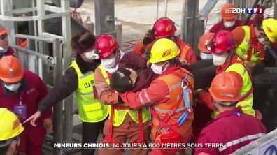 Mineurs chinois : 14 jours à 600 mètres sous terre