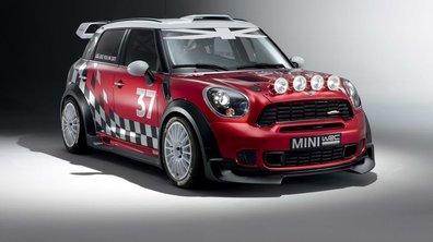 MINI Countryman WRC : présentation officielle et démonstration vidéo
