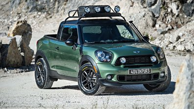 MINI Paceman Adventure Concept 2014 : l'unique pick-up en photos officielles