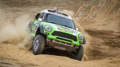 Dakar 2013 - Etape 2 : Peterhansel et Barreda prennent la tête