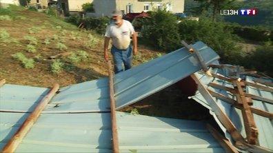 Mini-tornade à Gier : la ville de Chagnon ravagée