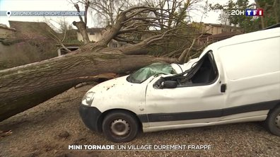 Mini-tornade : un village de Gironde durement frappé