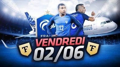 La Quotidienne du 02/06 : 24 heures avec l'équipe de France