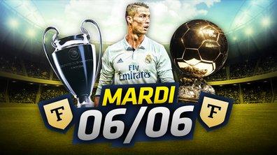 La Quotidienne du 06/06 : Ronaldo déjà Ballon d'or ?