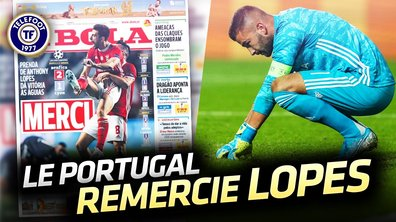 "La Quotidienne du 24/10 : Anthony Lopes ""star"" malgré lui"