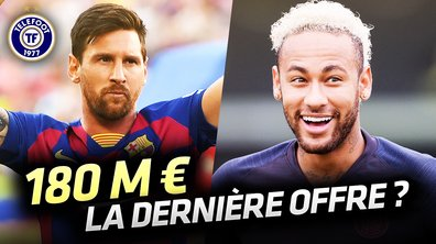 La Quotidienne du 27/08 : L'offre XXL du Barça pour Neymar !