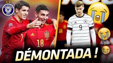 La Quotidienne du 18/11 : L'Espagne PULVERISE la Mannschaft !