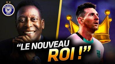 La Quotidienne du 23/12 : Messi DÉTRÔNE le roi Pelé