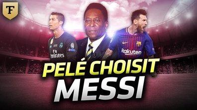 La Quotidienne du 24/10: Pelé choisit Messi