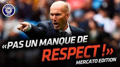La Quotidienne Mercato du 23/07: La réponse de Zidane à Bale !