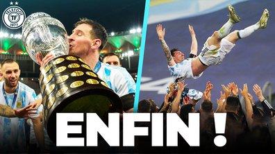 La Quotidienne du 11/07 : Messi remporte enfin son premier titre avec l'Argentine !