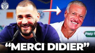 La Quotidienne du 31/05 : Benzema remercie Deschamps avec le smile !