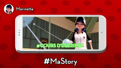 Les stories de Miraculous - #Coursd'escrime @Marinette