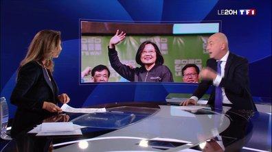 Mise au point sur les enjeux de la réélection de la présidente de Taïwan