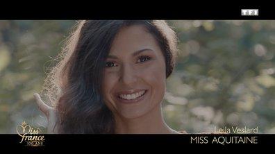 Miss Aquitaine 2020 est Leila Veslard (candidate à Miss France 2021)