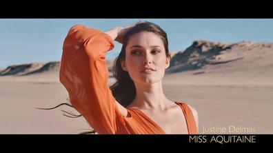 Miss Aquitaine 2019, Justine Delmas