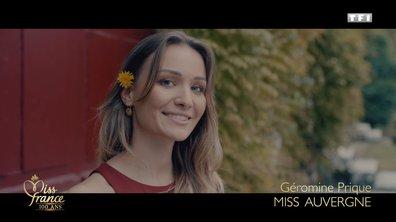 Miss Auvergne 2020 est Géromine Prique (candidate à Miss France 2021)