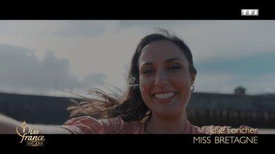 Miss Bretagne 2020 est Julie Foricher (candidate à Miss France 2021)