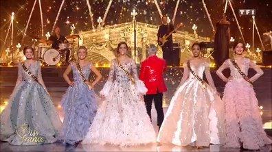 Miss France 2020 : Robbie Williams se joint aux Miss pour le tableau final