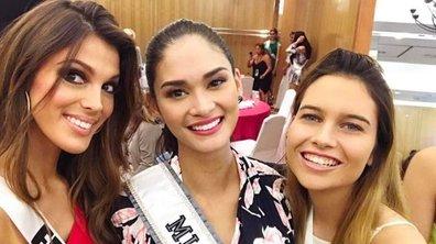 Découvrez avec qui Iris Mittenaere a sympathisé au concours de Miss Univers...