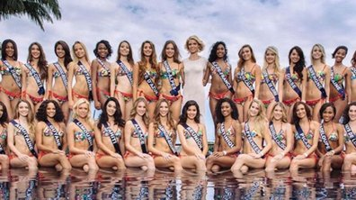 Premier shooting photo pour les Miss à La Réunion