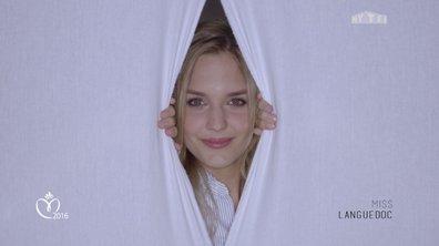 """Miss Languedoc : """"Petite, j'ai eu l'idée de me faire une grosse mèche rouge"""""""