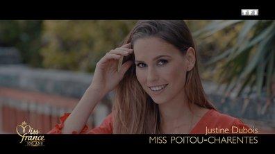 Miss Poitou-Charentes 2020 est Justine Dubois (candidate à Miss France 2021)