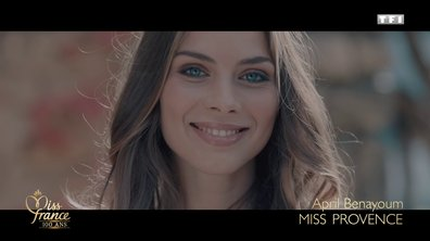 Miss Provence 2020 est April Benayoum (candidate à Miss France 2021)