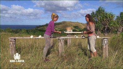 Surprise ! Une troisième épreuve attend Sandrine et Tiffany !