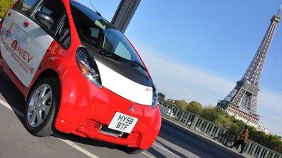 Mondial de l'Auto 2010 : la Mitsubishi i-MiEV en avant-première européenne