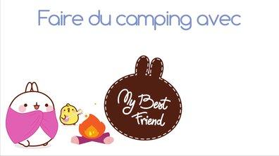 Molang - Faire du camping  #MyBestFriend - saison 2