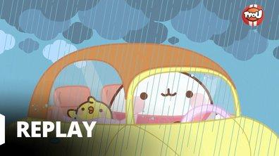 Molang - Jour de pluie