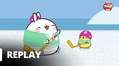 Molang - La partie de hockey