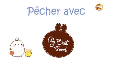 Molang - Pêcher #MyBestFriend