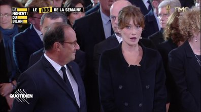 Le Moment du bilan : Hollande et Carla Bruni, Tom Cruise en Ukraine, ...