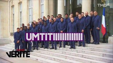 Le Moment de vérité : Bleues et légion d'honneur, la journée 100% foot d'Emmanuel Macron