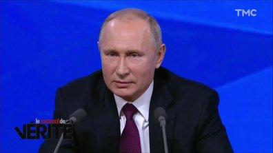 Moment de vérité : la conférence de presse surréaliste de Vladimir Poutine