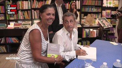 Le Moment de vérité : la dédicace très fun de Nicolas Sarkozy à Nice