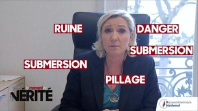 Moment de vérité : le fact-checking de Marine Le Pen sur le pacte de Marrakech