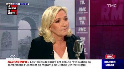 Le Moment de vérité : immigration et sécurité, Emmanuel Macron et Marine Le Pen font leur rentrée sur le même thème