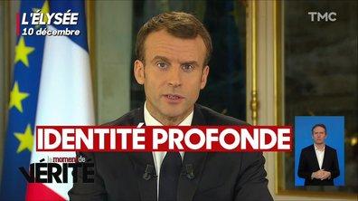 Moment de vérité : Macron relance le débat sur l'identité nationale