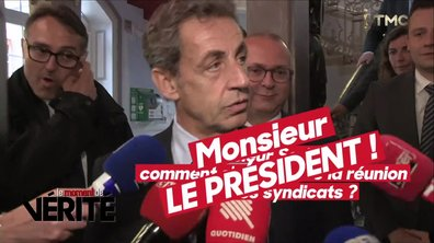 """Le Moment de vérité : Nicolas Sarkozy refait surface à Belfort et veut toujours du """"Monsieur président"""""""