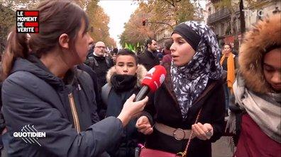 Le Moment de vérité : dans les rangs de la manif contre l'islamophobie