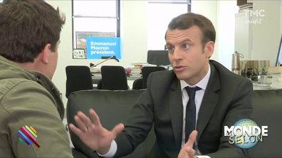 Le Monde selon... Emmanuel Macron