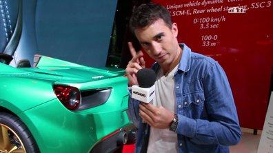 Mondial de l'Auto 2016 : Visite insolite du stand Ferrari