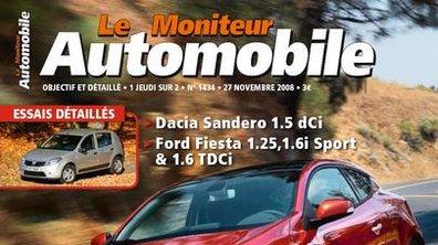 Au sommaire du Moniteur Automobile du 27 novembre