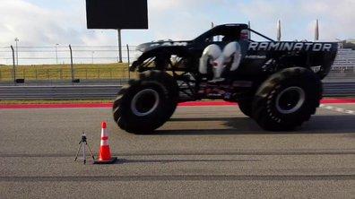Insolite : Le record du monde de vitesse en Monster Truck battu !