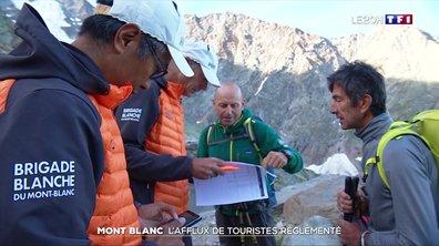 Mont Blanc : l'afflux de touristes réglementé