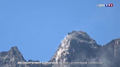 Mont Blanc, la montagne qui s'effrite